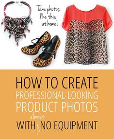 Create Professional Looking Product Photos With (almost) No Equipment Source by kelzkraze clothing photography Online Sales, Selling Online, Selling On Ebay, Selling Apps, Clothing Photography, Photography Tips, Product Photography, Photography Training, Photographer Outfit