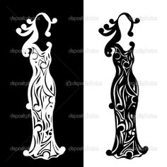 vintage silhouettes | Vintage silhouettes of ladies — Stock Vector © Emila1604 #4150559 Free Vector Images, Vector Free, Vintage Silhouette, Art Clipart, Silhouettes, Vintage Black, Cardmaking, Cricut, Scrapbooking