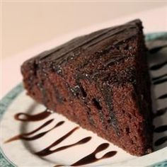 Vegan chocoladetaart @ allrecipes.nl