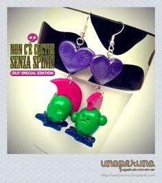Orecchini   Earrings NON C'E' CACTUS SENZA SPINE - OUT SPECIAL EDITION (Mod. Punk)