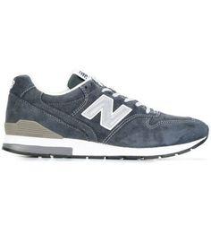 NEW BALANCE – Sneakers blu Revlite 996 scamosciate da uomo 1