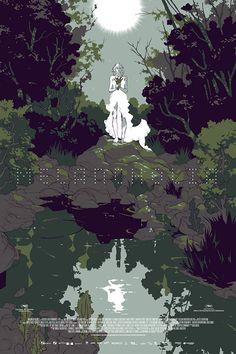 Melancholia movie poster by Tomer Hanuka via Reelizer