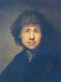 Rembrandt Self-portrait, 1630: