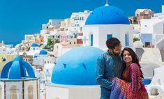 Santorini photographer Alexander Hadji: book a photo shoot now! Santorini Photographer, Santorini Wedding, Bright Colours, Wedding Photos, Photoshoot, Light Colors, Marriage Pictures, Vivid Colors, Photo Shoot