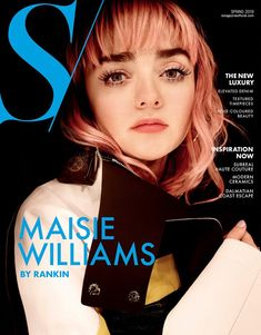 Maisie Williams on the cover of the spring edition of S Magazine April Photographed by the world famous Rankin Photography Released April 20 Maisie Williams, Rankin Photography, Fashion Photography, John Rankin, Celebrity Photographers, Celebrity Pictures, Beautiful Actresses, Celebrity Crush, Her Style