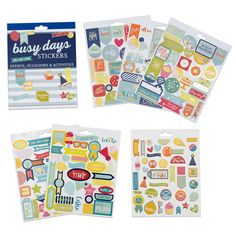 Busy Days Stickers: Events, Occasions & Activities | Boxclever Press