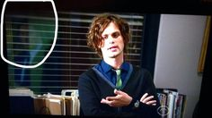 Matthew as Dr. Spencer Reid on Criminal Minds Season 12