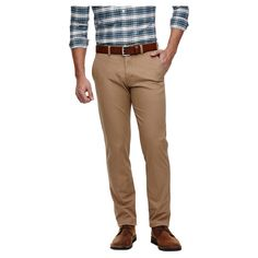 Haggar H26 - Men's Slim Fit Stretch Premium Chino