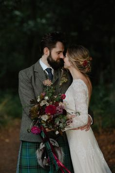 Swooning of this bride's effortless updo with floral accents | Image by Zoë Alexandra Photography