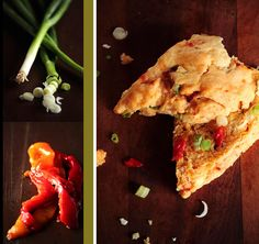 Caramelized Leek, Basil, & Black Pepper Biscuits | Biscuits, Basil and ...