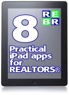 8 Practical iPad apps for REALTORS®   Real Estate Business Resources, Inc.   REBR