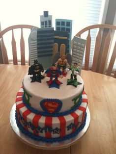 Justice League Cake — Birthday Cakes