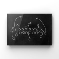 This listing is for one print of an old chalkboard with a football play on it. I have 2 more of these so make sure if you're customizing a set to list No. 1,2, or 3 or choose all 3 :) A perfect print for your little boys room or nursery! This would compliment any of my other sport prints Please select either photo or canvas as well as the size you'd like from the drop down menu as you place it in your cart. Pricing is also available there. PHOTOS are printed with love at a professional photo lab Football Nursery, Football Rooms, Boys Sports Rooms, Kids Rooms, Boys Football Bedroom, Football Room Decor, Football Art, Baby Boy Rooms, Baby Boy Nurseries