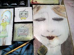 Bunt, Painting, Atelier, Rustic, Painting Art, Paintings, Painted Canvas, Drawings