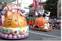 parade at Universal Studios Japan