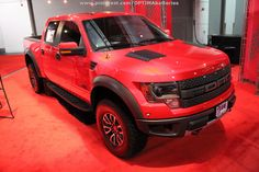 Ford #Raptor in red at #SEMA 2012