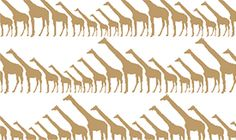 Wallpaper | Giraffe | Sissy+Marley for Jill Malek