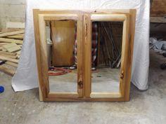 Superieur Hickory Medicine Cabinet I Built
