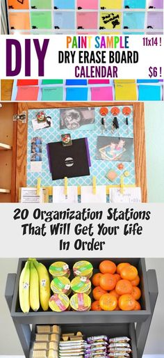 20 Organization Stations That Will Get Your Life In Order – Home Decor – Dry Erase Calendar İdeas. Outdoor Kitchen Sink, Outdoor Kitchen Design, Bathtub Toy Storage, Calendar Quotes, Pet Station, I Heart Organizing, Dry Erase Calendar, Organization Station, Framed Quotes