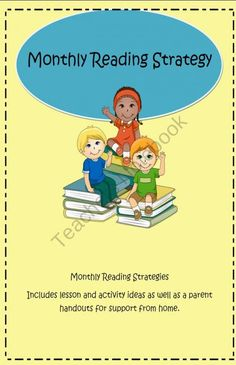 This is a unit that I created for our school. It includes a monthly reading strategy focus.  September- Finding the Main Idea October- Vocabulary with Context Clues November- Summarizing December- Questioning January- Making Connections February- Using In