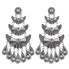 Gypsy Tear drop earring
