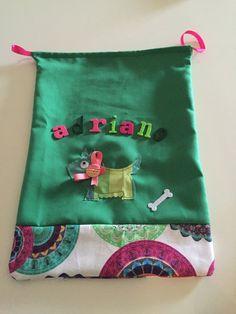 Sacchetto asilo in tessuto, by Ideamo, 8,00 € su misshobby.com