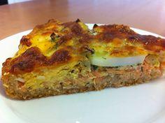 Liian hyvää: Lohi-munapiirakka Lasagna, Quiche, Food And Drink, Breakfast, Ethnic Recipes, Salta, Morning Coffee, Quiches, Lasagne