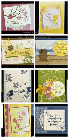 NEW Stampin' Up! Color Theory Suite coming June 1 #dostamping Stampin Up Catalog 2017, Stamping Up Cards, Season Colors, Color Theory, Cool Cards, New Catalogue, Creative Cards, Flower Cards, Homemade Cards