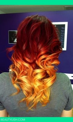 Amazing ombré. Get custom ombré coloring at Hair Factory's ombré shop: http://www.hairfactory.com/Ombr/products/526/