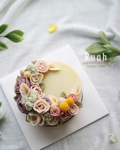 봄이 피어난 꽃케잌 / Blooming Flower Cakes