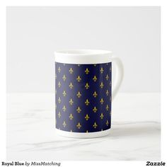 Royal Blue Tea Cup