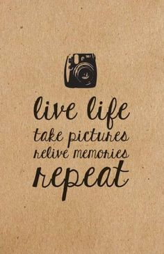 Photography Quotes : QUOTATION – Image : Quotes Of the day – Description Live life. Take pictures. Like Quotes, Top Quotes, Quotes To Live By, Quotes Images, Photo Quotes, Picture Quotes, Citation Souvenir, Photographer Quotes, Photographer Pictures