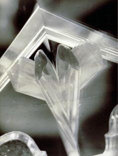 "Alvin Langdon COBURN. ""Vortograph"" ca. 1917 / printed later gelatin silver print 29.8 x 22.3 cm."