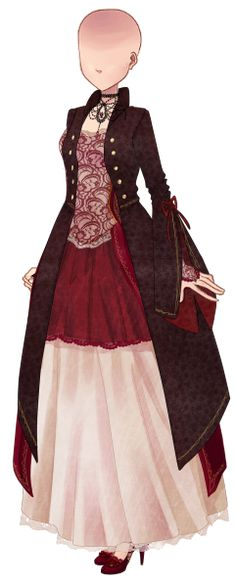 In town 1 Anime Kimono, Anime Dress, Anime Outfits, Dress Outfits, Cool Outfits, Fashion Dresses, Pelo Anime, Dress Drawing, Cute Skirts