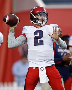f56ca5668  jmanziel2 in action for his first  aafexpress game.  uniswag Football  Uniforms