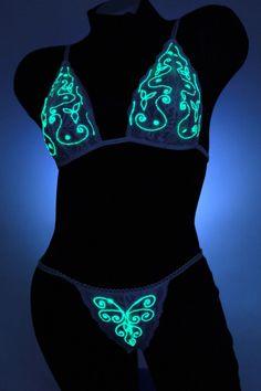 Glow~n~The Dark Lingerie 294773b46c