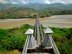Cross the Cauca river into the town of Santa Fe de Antioquia Colombia Country, Colombia Travel, Santa Fe, South America, Traveling By Yourself, Exotic, To Go, Places To Visit, The Incredibles