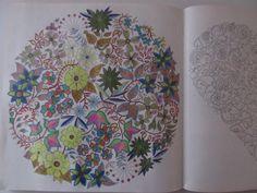 Secret Garden Johanna Basford adult coloring book finished pages pictures DIY