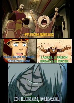 Prison Break! - gotta admit Hama did have the most epic one <---Hama had the freakiest and scariest and most horrible and darkest one, previous pinner!!
