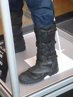 Captain America: Civil War costume boot detail