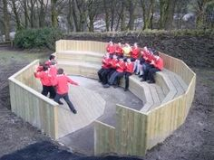 School Library stage ampitheatre seating | Lancashire Telegraph: STAGE STRUCK…