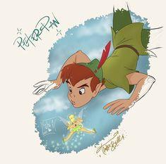Disney Movie Characters, Disney Films, Disney And Dreamworks, Disney Art, Fictional Characters, Peter Pan 1953, Frozen 2, Walt Disney Animation Studios, Peter Pan Disney