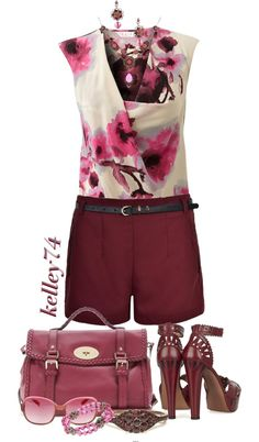 """""""Mulberry"""" by kelley74 on Polyvore"""