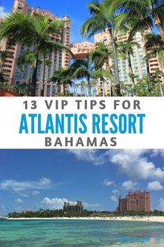 VIP Tips for Atlantis Resort Bahamas | TravelingMom Bahamas Honeymoon, Bahamas Vacation, Vacation Trips, Vacation Ideas, Greece Vacation, Vacation Spots, Barbados, Jamaica, Atlantis Resort Bahamas