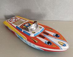 Set of two toy boat sheet and green woodpecker . by lifestyle66
