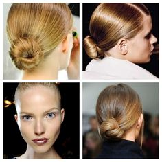 We love any hair 'do that's a head-turner, but we also love a simple and easy hairstyle that is elegant and adds panache to any ensemble. We have a variety of hairstyles that we keep in our hair ar...