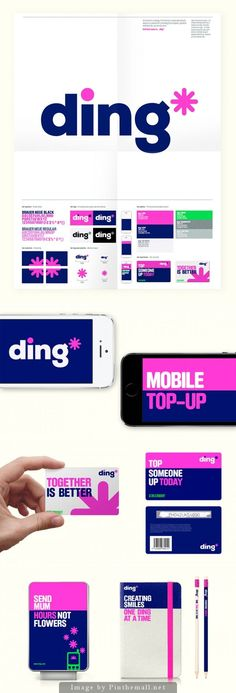 Brand New: New Name, Logo, and Identity for ding* by DixonBaxi. - a grouped images picture Corporate Design, Brand Identity Design, Corporate Identity, Web Design, Logo Design, Type Logo, U Logo, Architecture Names, Landscape Architecture