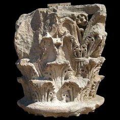 Segobriga, imágenes, 43. Capiteles romanos de Segobriga. Columns, Lion Sculpture, Statue, Art, Roman Sculpture, Romans, Big Top, Art Background, Kunst