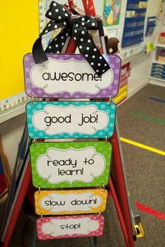 Mrs. Ricca's Kindergarten: Classroom Management