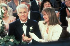 George & Nina Banks | Father of the Bride (1991)    #stevemartin #dianekeaton #couples